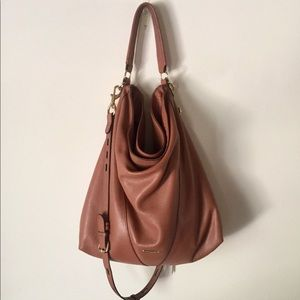 REBECCA MINKOFF leather hogo crossbody bag!